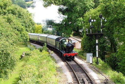 South Devon Railway Christmas | John Fowler Devon Holiday Parks