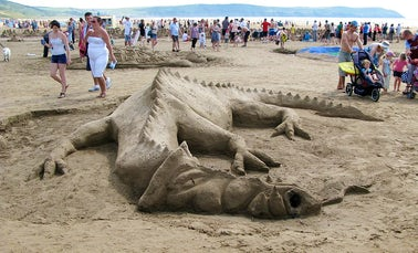 National Sandcastle Competition | John Fowler Devon Holidays