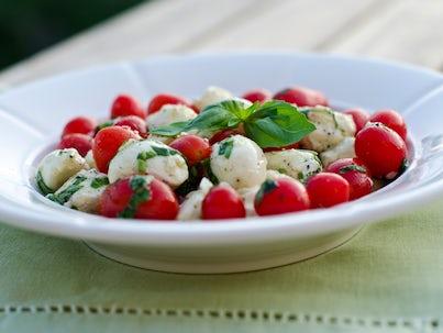 Mozzarella Salad | John Fowler Caravan Holiday Parks