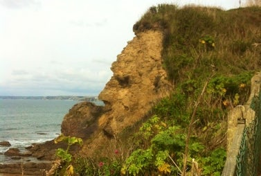Hope Cove Cliff Face | John Fowler Last Minute Holidays