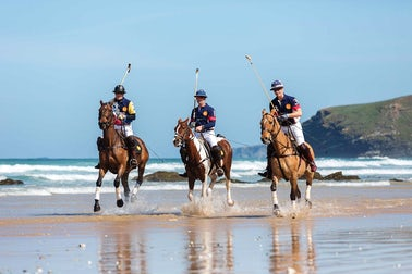 Polo on the Beach | Cornwall July Events