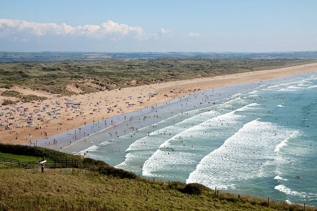 Saunton Beach | holiday parks in Devon
