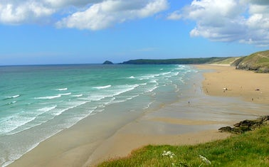 Perranporth Beach | Top 3 Scenic Running Routes Cornwall