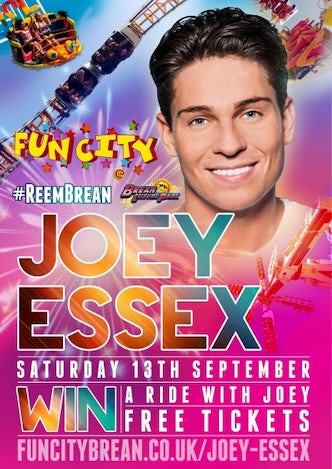 Joey Essex In Brean | John Fowler Somerset Holiday Parks