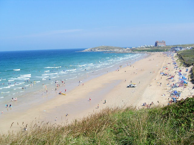 Fistral Beach | caravan holiday parks