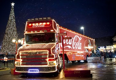 Coca Cola Truck Looe | John Fowler Caravan Parks