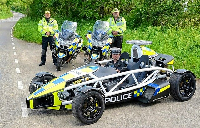 World's fastest police car | Somerset Police