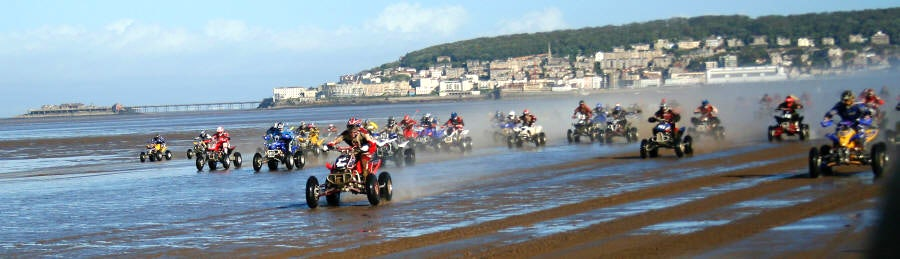 Weston Beach Race | Somerset holiday parks