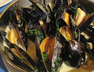 Creamy Mussels | Top 3 West Country Seafood Dishes