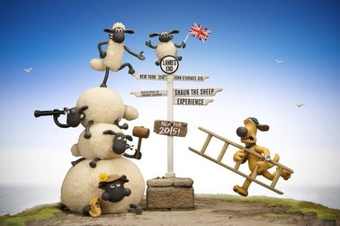 Shaun The Sheep Lands End | John Fowler Cornwall Holiday Parks