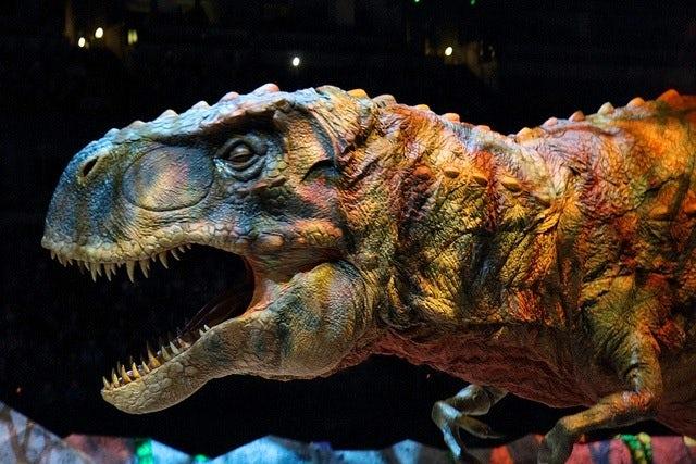 T-Rex   Combe Martin Holidays