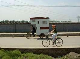 caravan bike