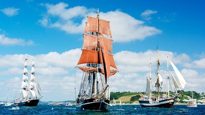 Falmouth Tall Ships Cornwall | John Fowler Last Minute Holidays