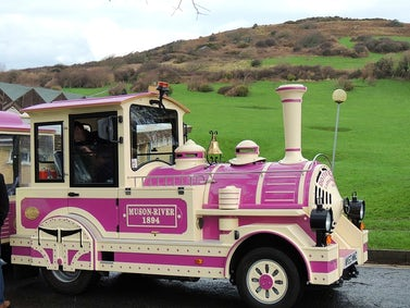 Ilfracombe Land Train Returns | John Fowler Cheap Caravan Holidays