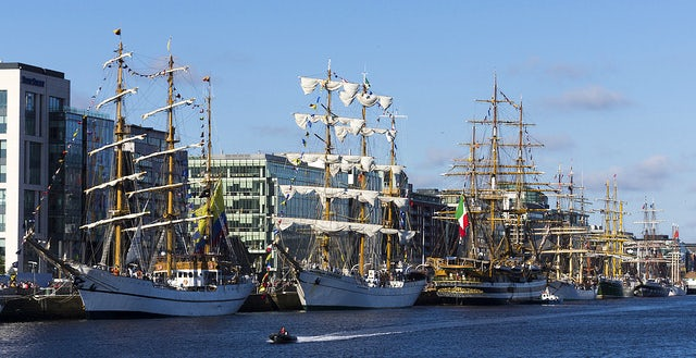 Tall Ships Races | caravan holidays in Devon | John Fowler Holidays