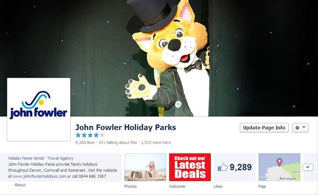 "Facebook screenshot – 10,000th ""Like"" Giveaway"