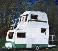 tall caravan